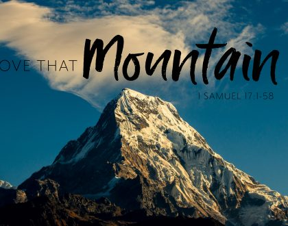 Move That Mountain